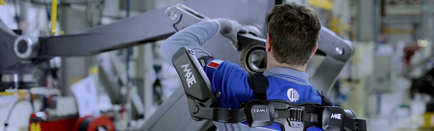 L'esoscheletro MATE a supporto dell'ergonomia